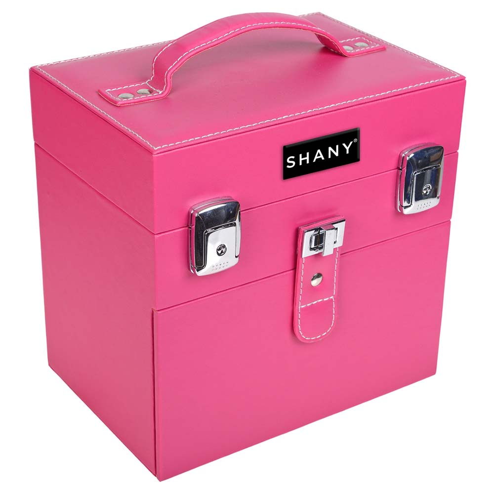 SHANY-Color-Matters-Nail-Accessories-Organizer-and-Makeup-Train-Case miniature 45
