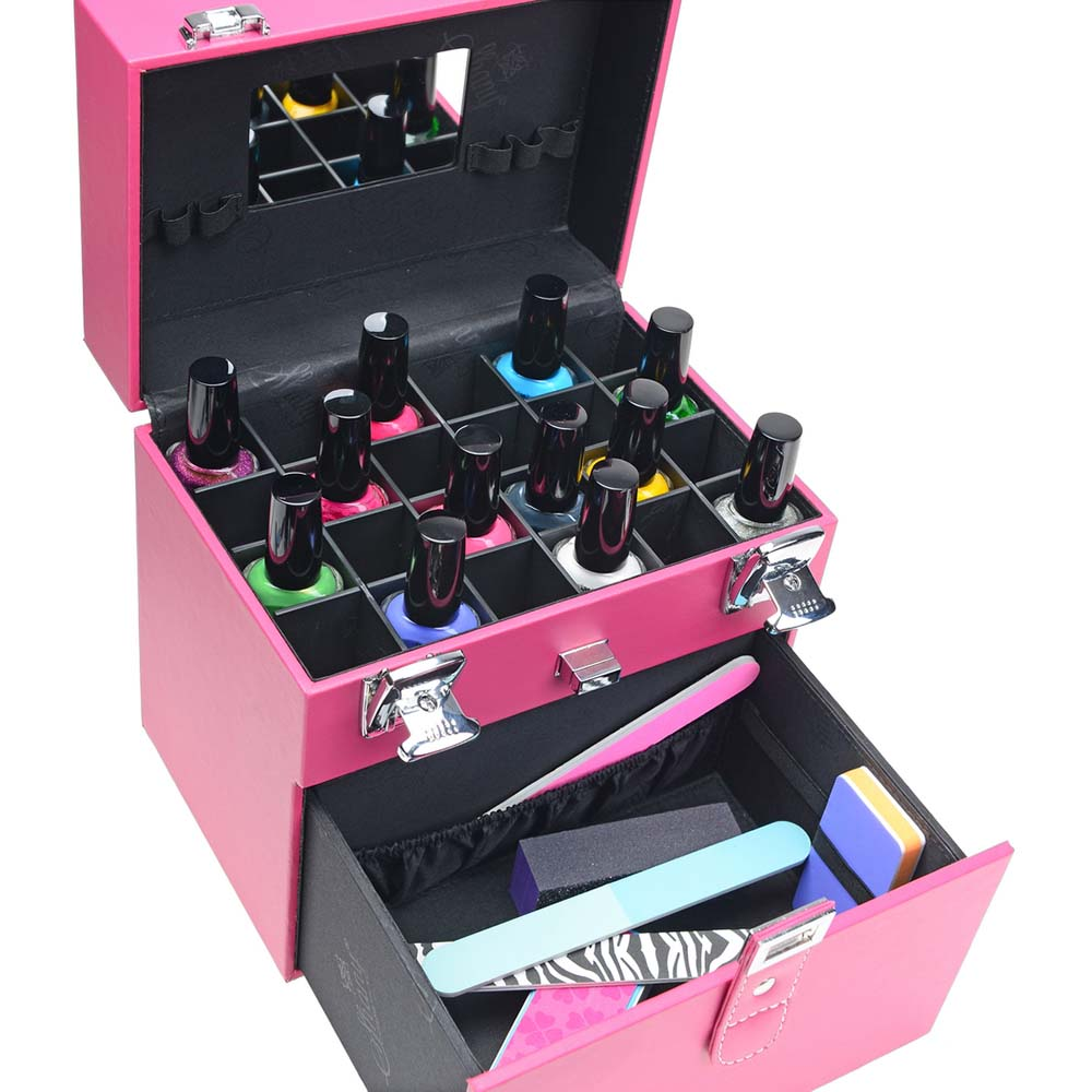 SHANY-Color-Matters-Nail-Accessories-Organizer-and-Makeup-Train-Case miniature 47