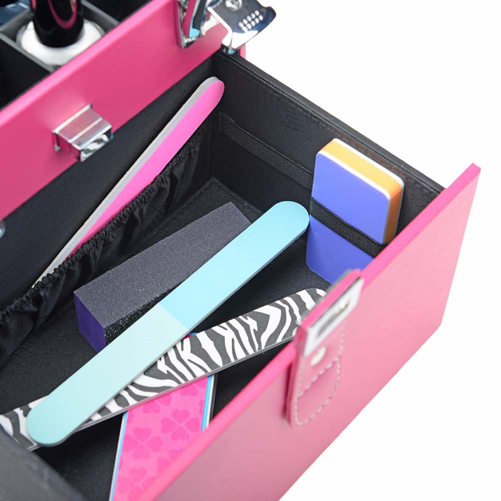 SHANY-Color-Matters-Nail-Accessories-Organizer-and-Makeup-Train-Case miniature 50