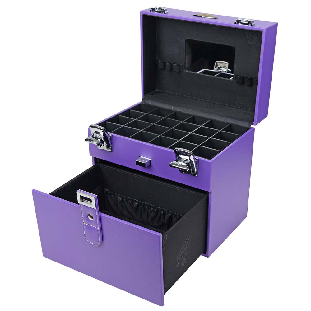 SHANY-Color-Matters-Nail-Accessories-Organizer-and-Makeup-Train-Case miniature 73