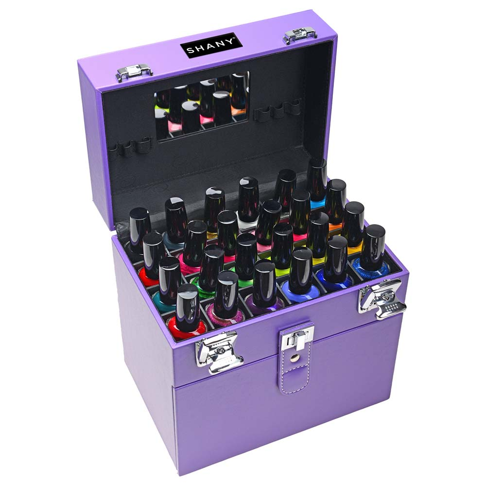 SHANY-Color-Matters-Nail-Accessories-Organizer-and-Makeup-Train-Case miniature 77