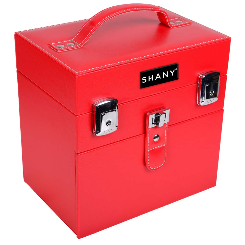 SHANY-Color-Matters-Nail-Accessories-Organizer-and-Makeup-Train-Case miniature 23