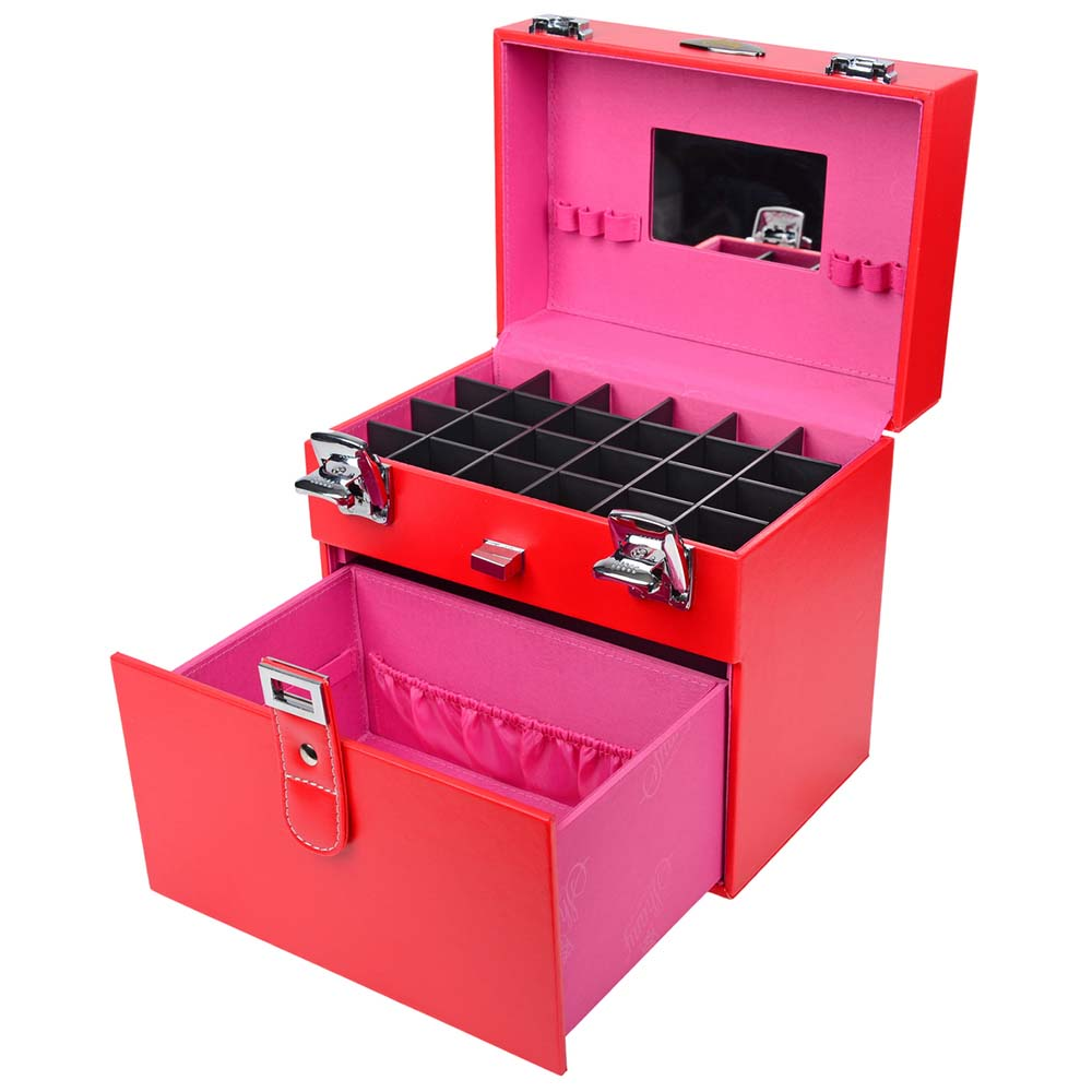 SHANY-Color-Matters-Nail-Accessories-Organizer-and-Makeup-Train-Case miniature 24