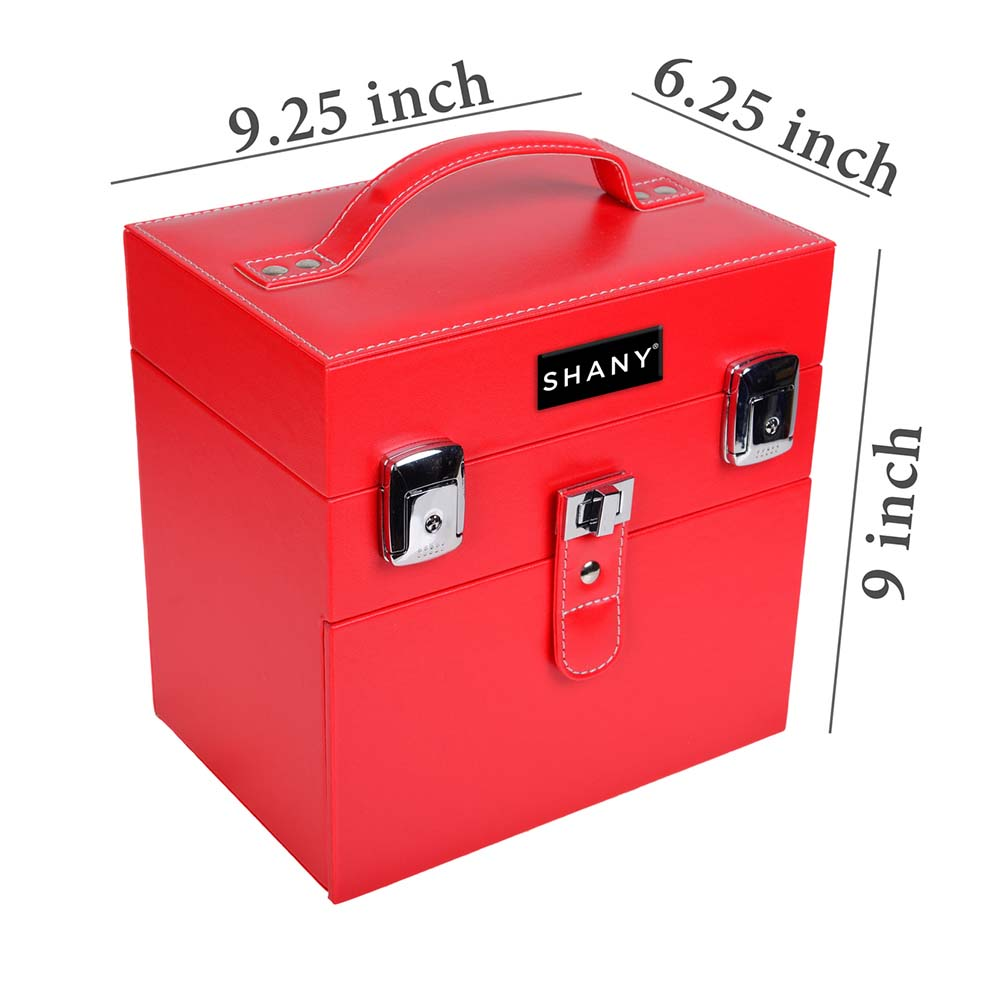 SHANY-Color-Matters-Nail-Accessories-Organizer-and-Makeup-Train-Case miniature 25