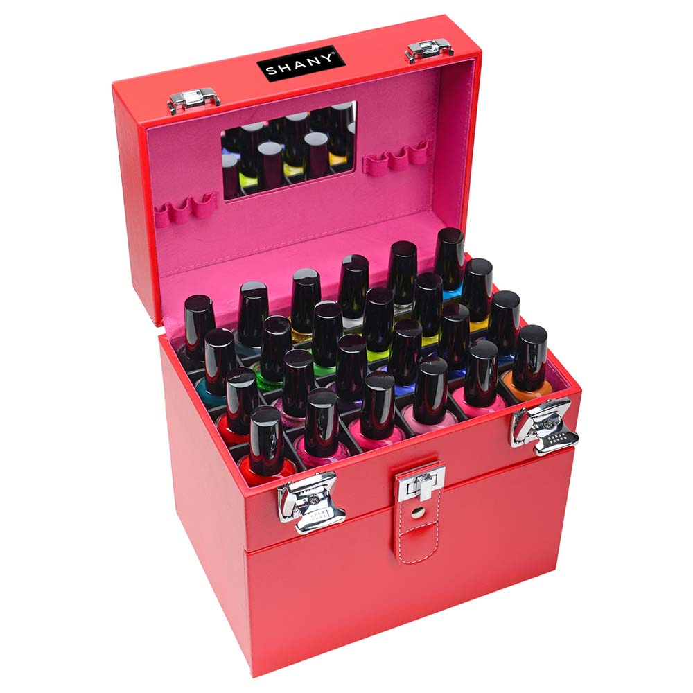 SHANY-Color-Matters-Nail-Accessories-Organizer-and-Makeup-Train-Case miniature 26
