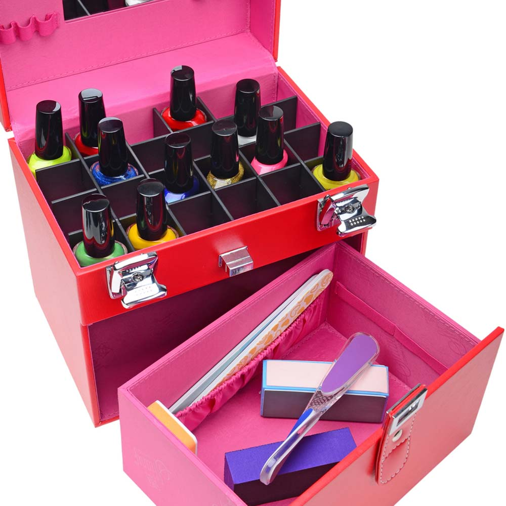 SHANY-Color-Matters-Nail-Accessories-Organizer-and-Makeup-Train-Case miniature 28