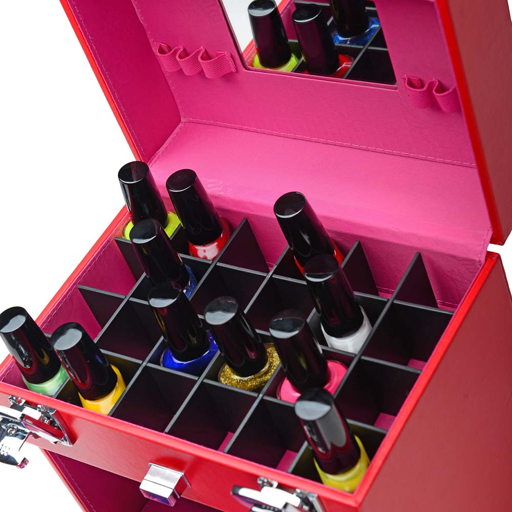 SHANY-Color-Matters-Nail-Accessories-Organizer-and-Makeup-Train-Case miniature 30
