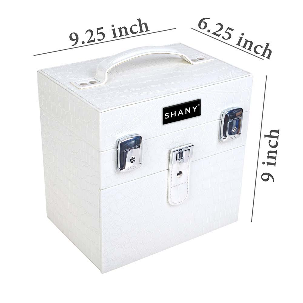 SHANY-Color-Matters-Nail-Accessories-Organizer-and-Makeup-Train-Case miniature 82