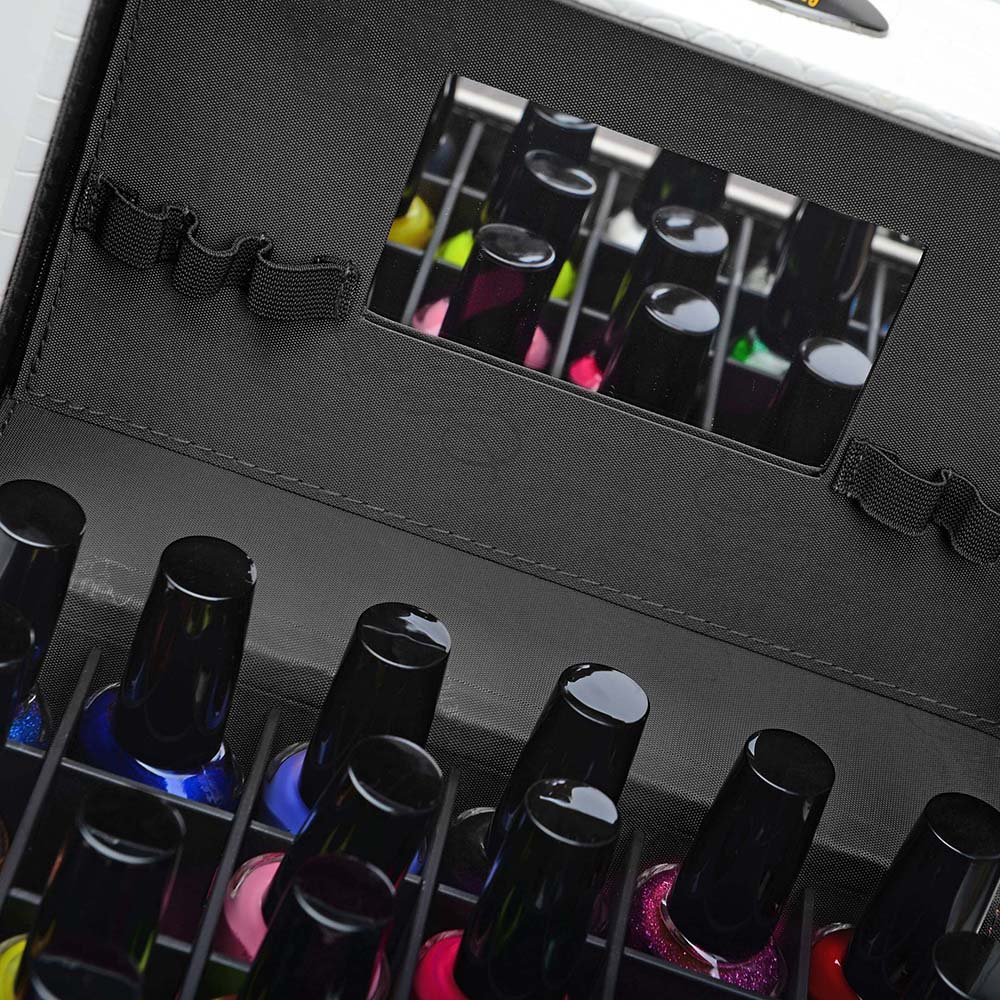 SHANY-Color-Matters-Nail-Accessories-Organizer-and-Makeup-Train-Case miniature 87