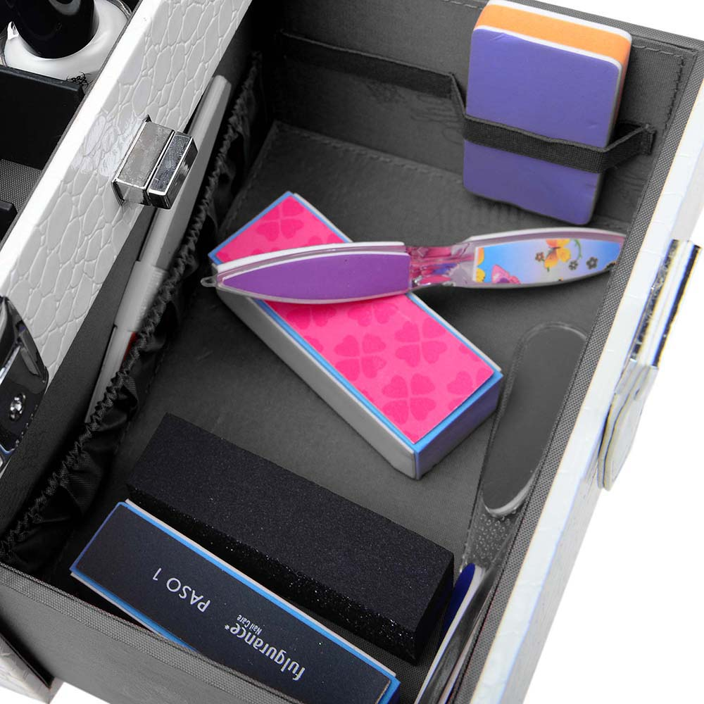 SHANY-Color-Matters-Nail-Accessories-Organizer-and-Makeup-Train-Case miniature 88