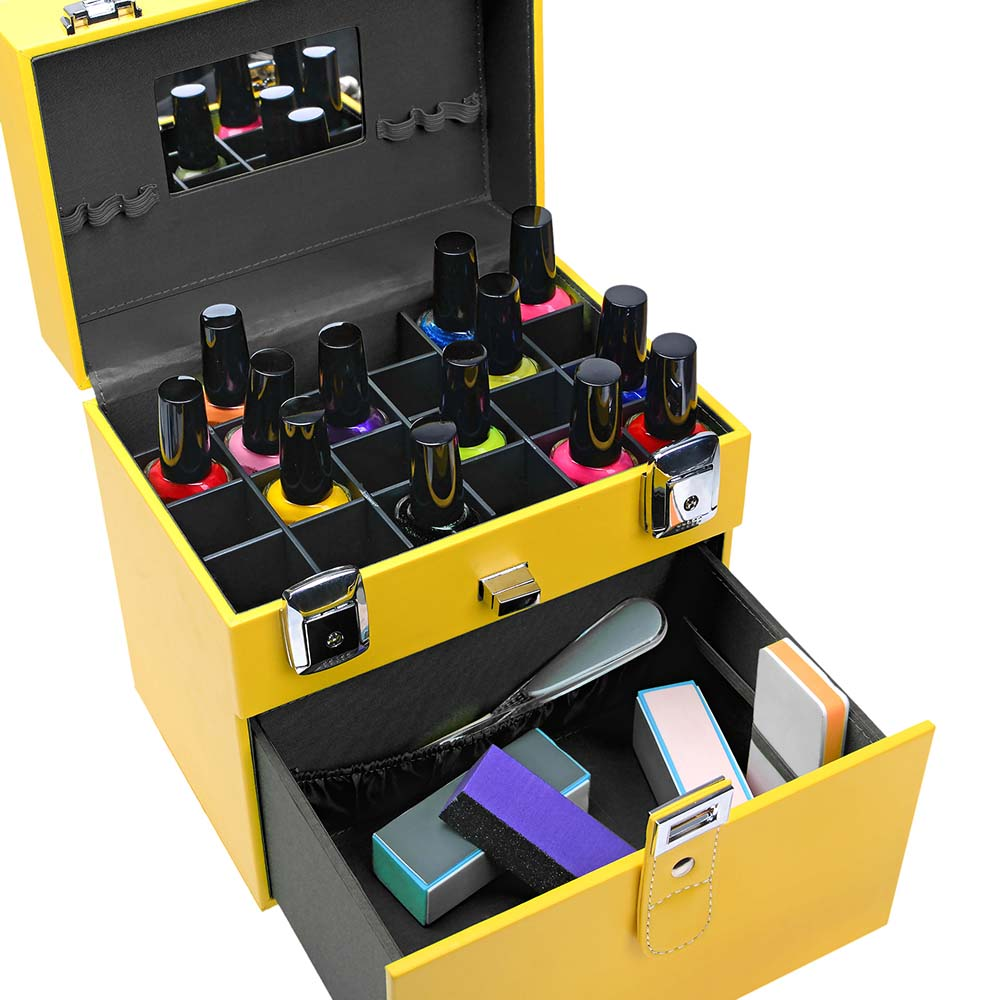 SHANY-Color-Matters-Nail-Accessories-Organizer-and-Makeup-Train-Case miniature 14