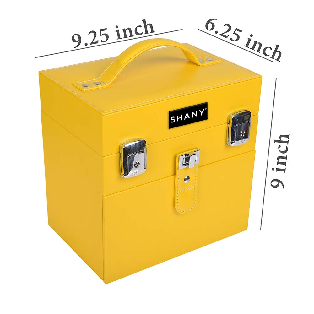SHANY-Color-Matters-Nail-Accessories-Organizer-and-Makeup-Train-Case miniature 16