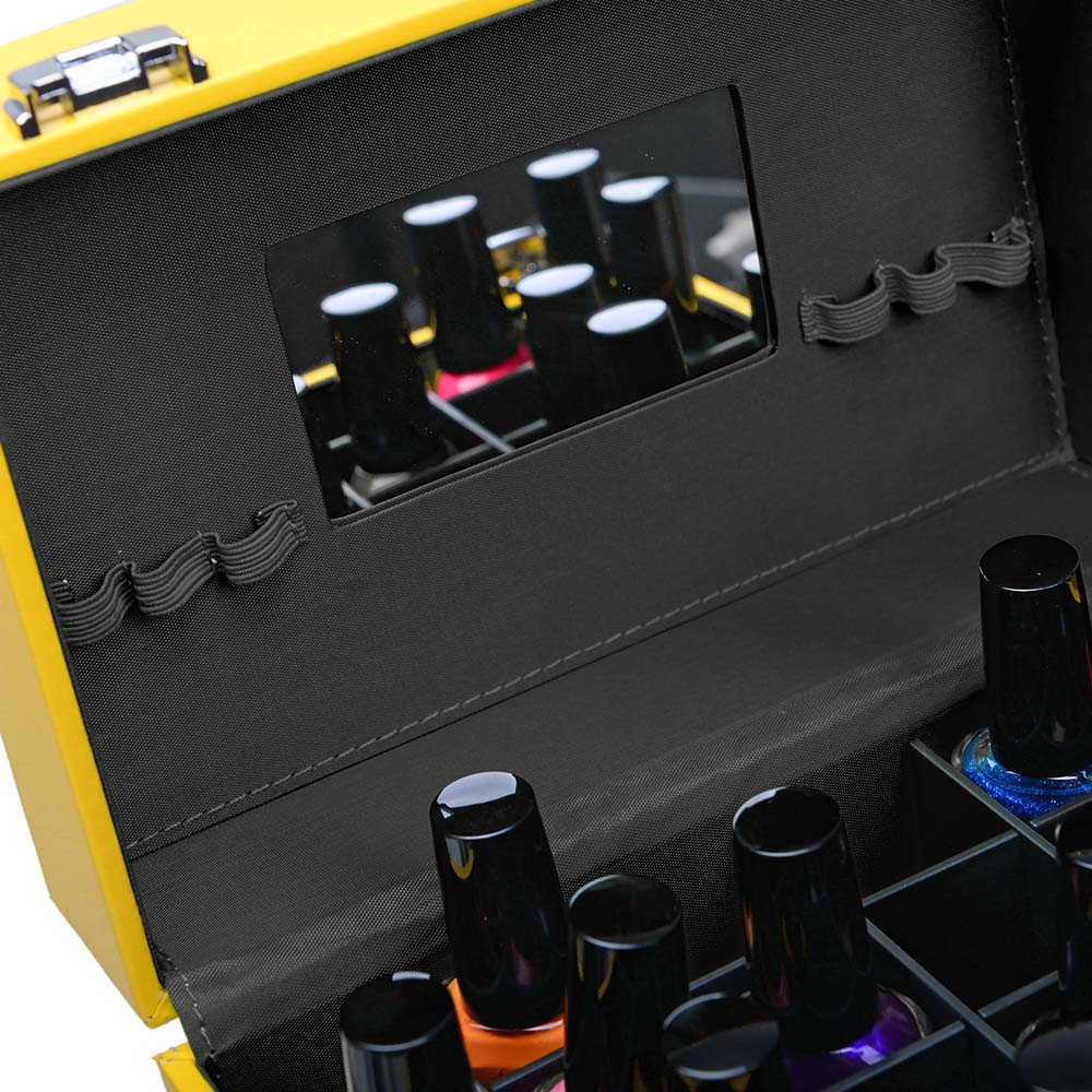 SHANY-Color-Matters-Nail-Accessories-Organizer-and-Makeup-Train-Case miniature 18