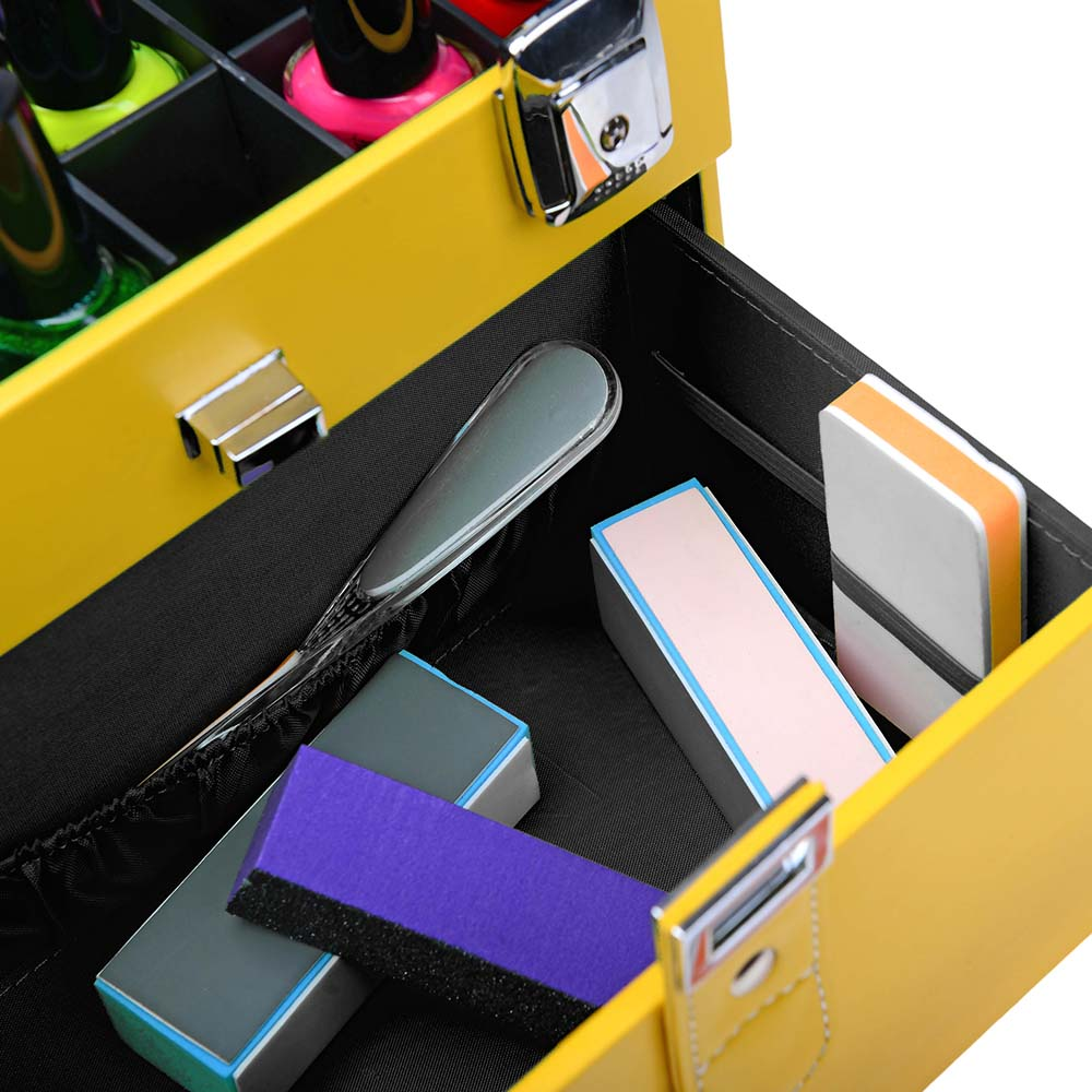 SHANY-Color-Matters-Nail-Accessories-Organizer-and-Makeup-Train-Case miniature 19