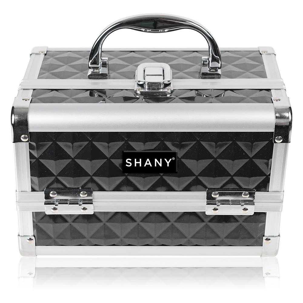SHANY-Mini-Makeup-Train-Case-With-Mirror miniature 5