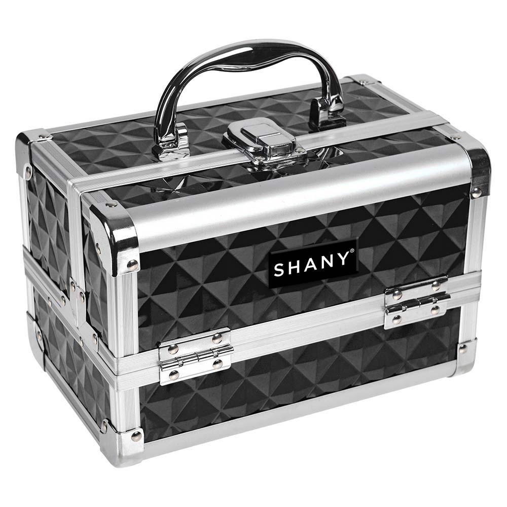 SHANY-Mini-Makeup-Train-Case-With-Mirror miniature 6