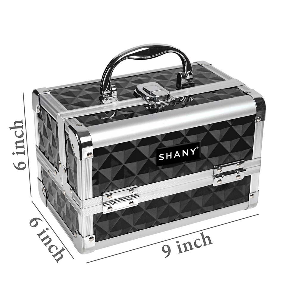 SHANY-Mini-Makeup-Train-Case-With-Mirror miniature 7
