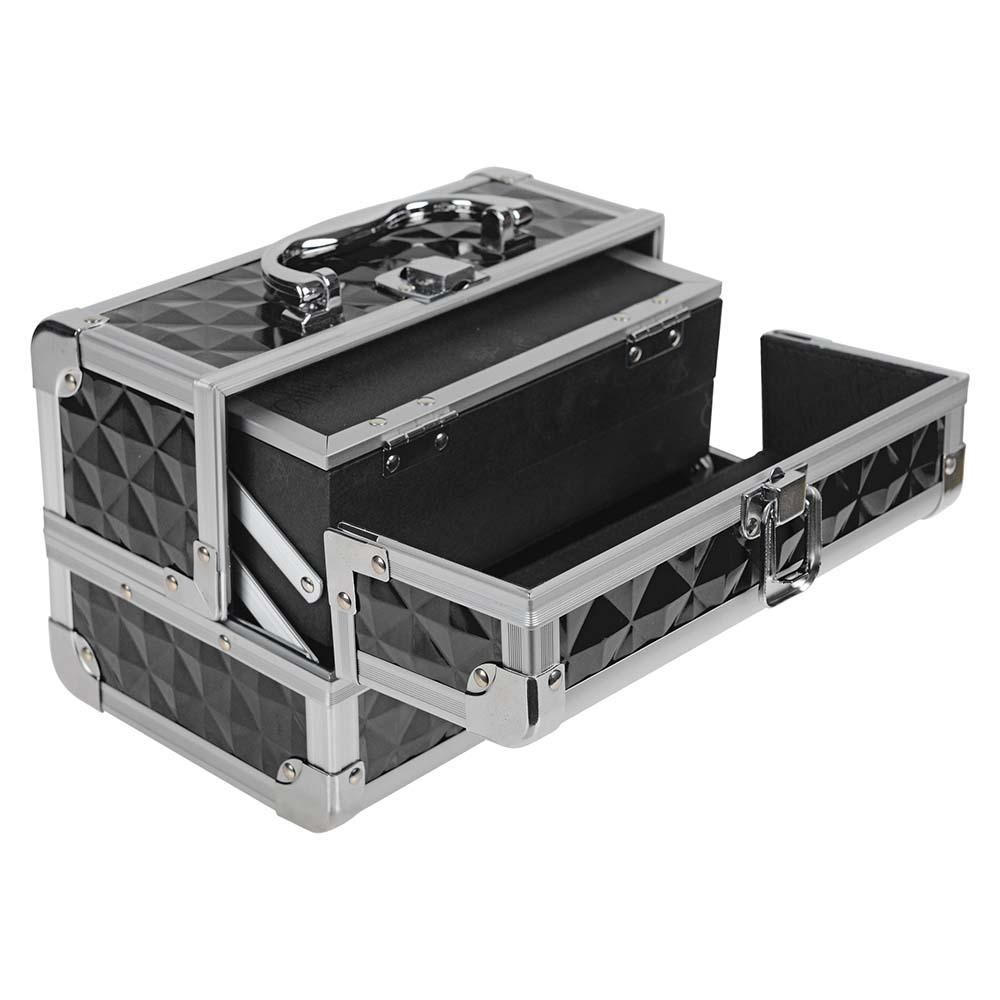 SHANY-Mini-Makeup-Train-Case-With-Mirror miniature 8