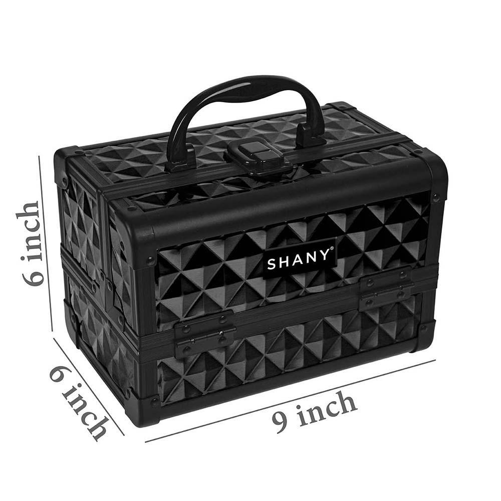 SHANY-Mini-Makeup-Train-Case-With-Mirror miniature 89