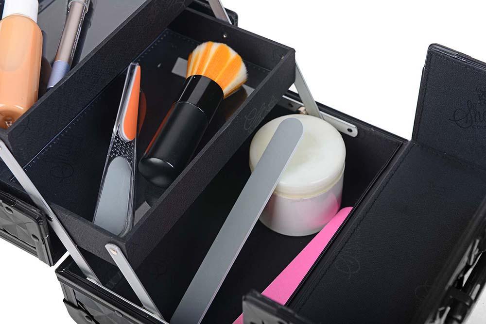 SHANY-Mini-Makeup-Train-Case-With-Mirror miniature 93