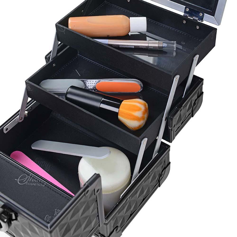 SHANY-Mini-Makeup-Train-Case-With-Mirror miniature 94
