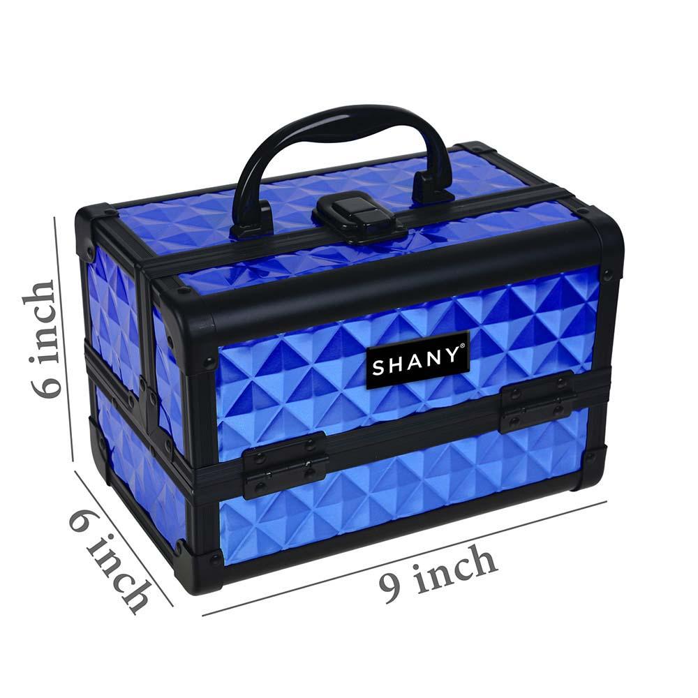 SHANY-Mini-Makeup-Train-Case-With-Mirror miniature 35