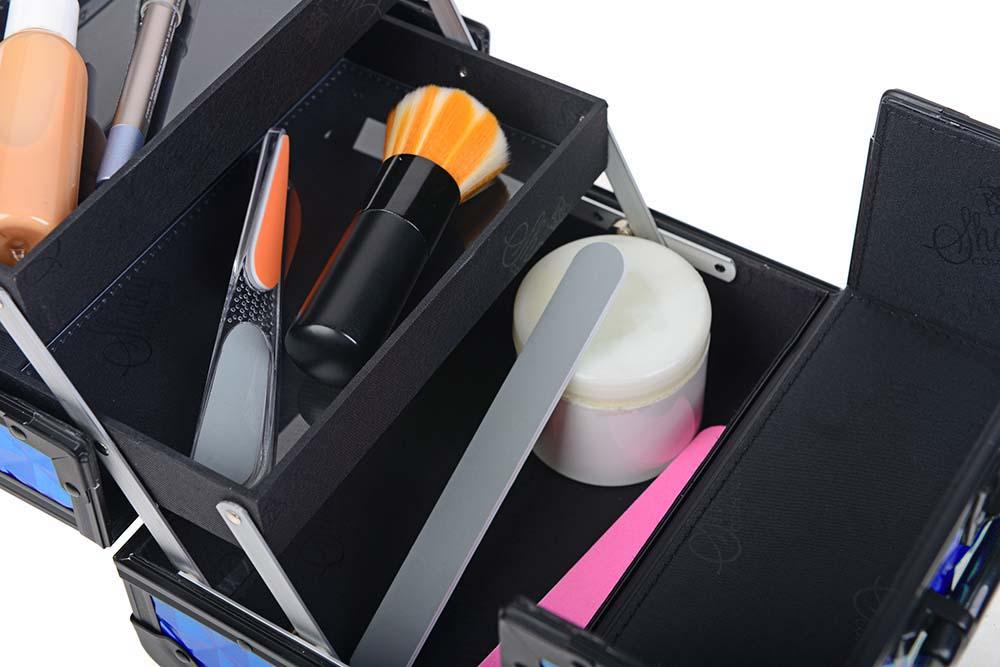SHANY-Mini-Makeup-Train-Case-With-Mirror miniature 39