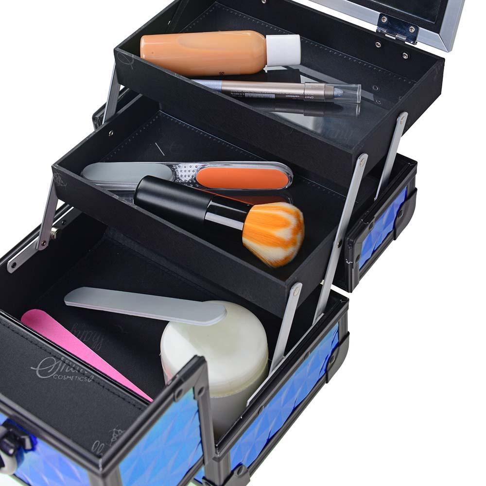 SHANY-Mini-Makeup-Train-Case-With-Mirror miniature 40