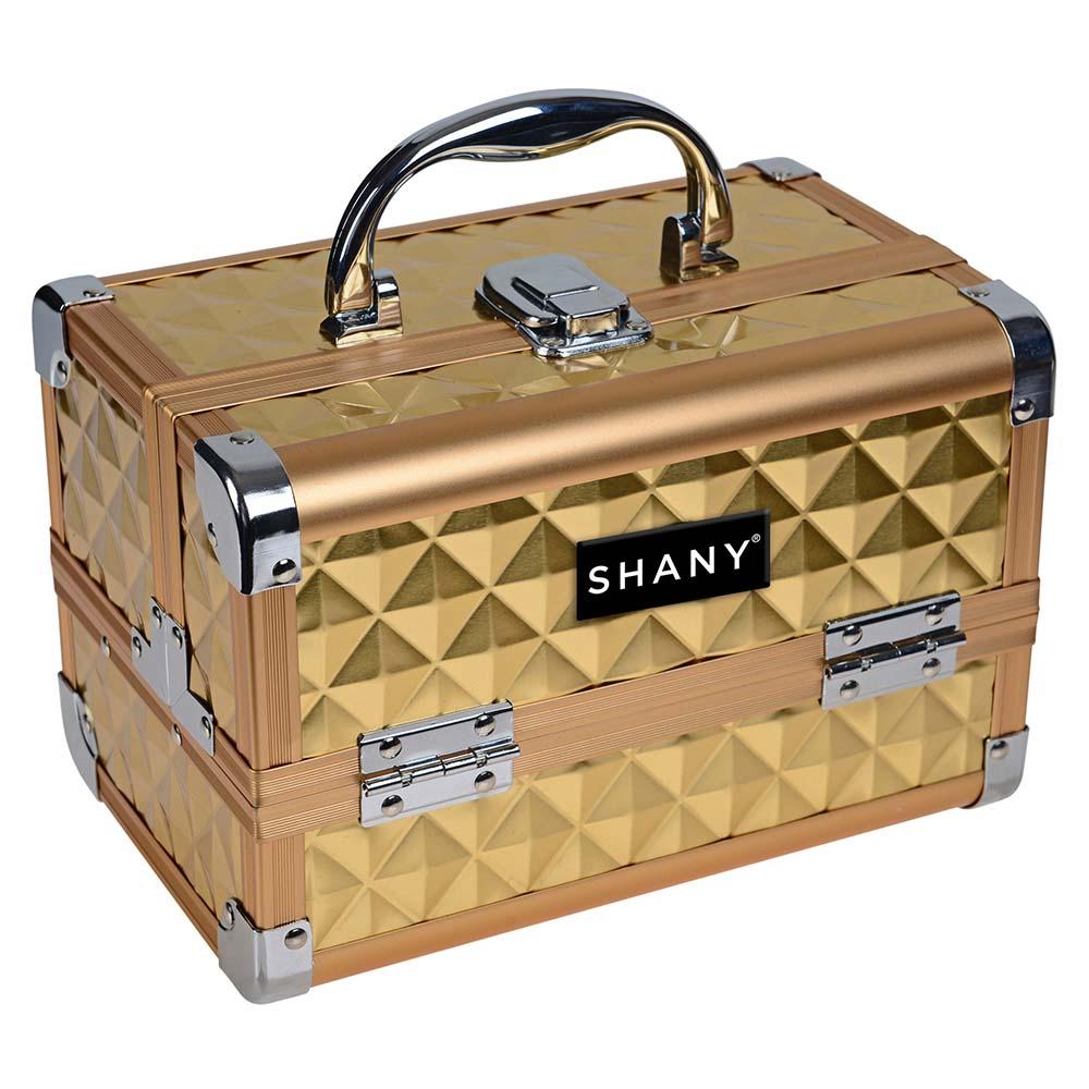 SHANY-Mini-Makeup-Train-Case-With-Mirror miniature 17