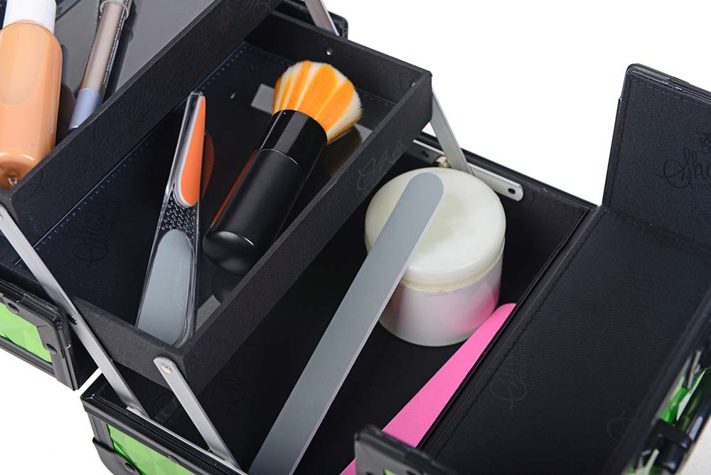 SHANY-Mini-Makeup-Train-Case-With-Mirror miniature 102