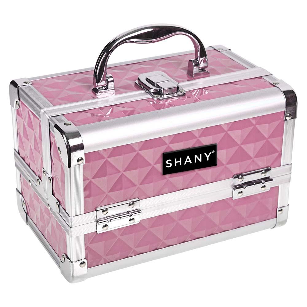 SHANY-Mini-Makeup-Train-Case-With-Mirror miniature 46