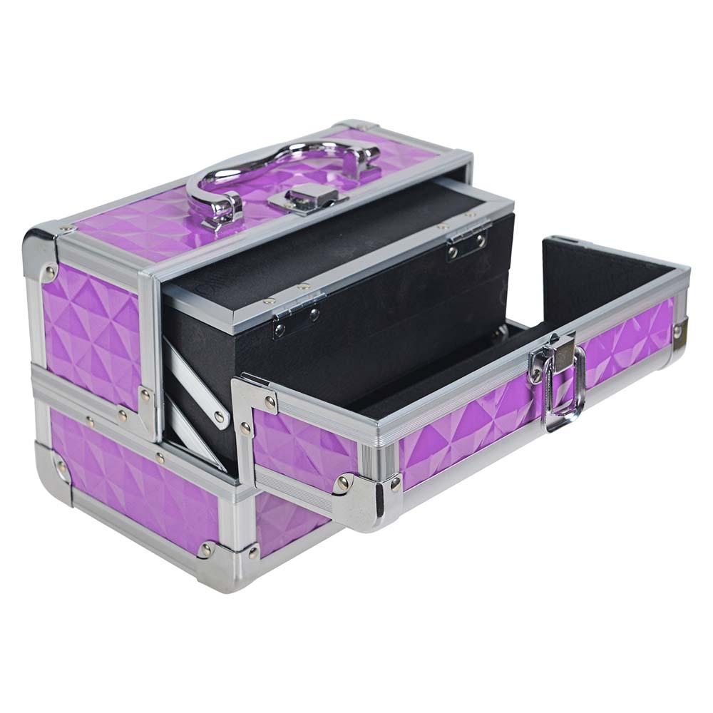 SHANY-Mini-Makeup-Train-Case-With-Mirror miniature 53
