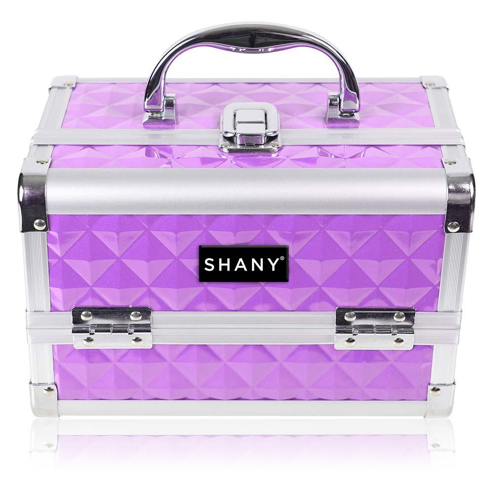 SHANY-Mini-Makeup-Train-Case-With-Mirror miniature 57