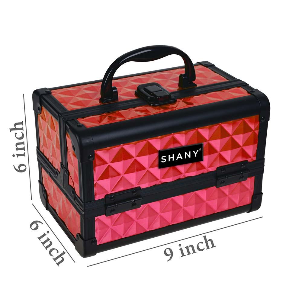 SHANY-Mini-Makeup-Train-Case-With-Mirror miniature 59