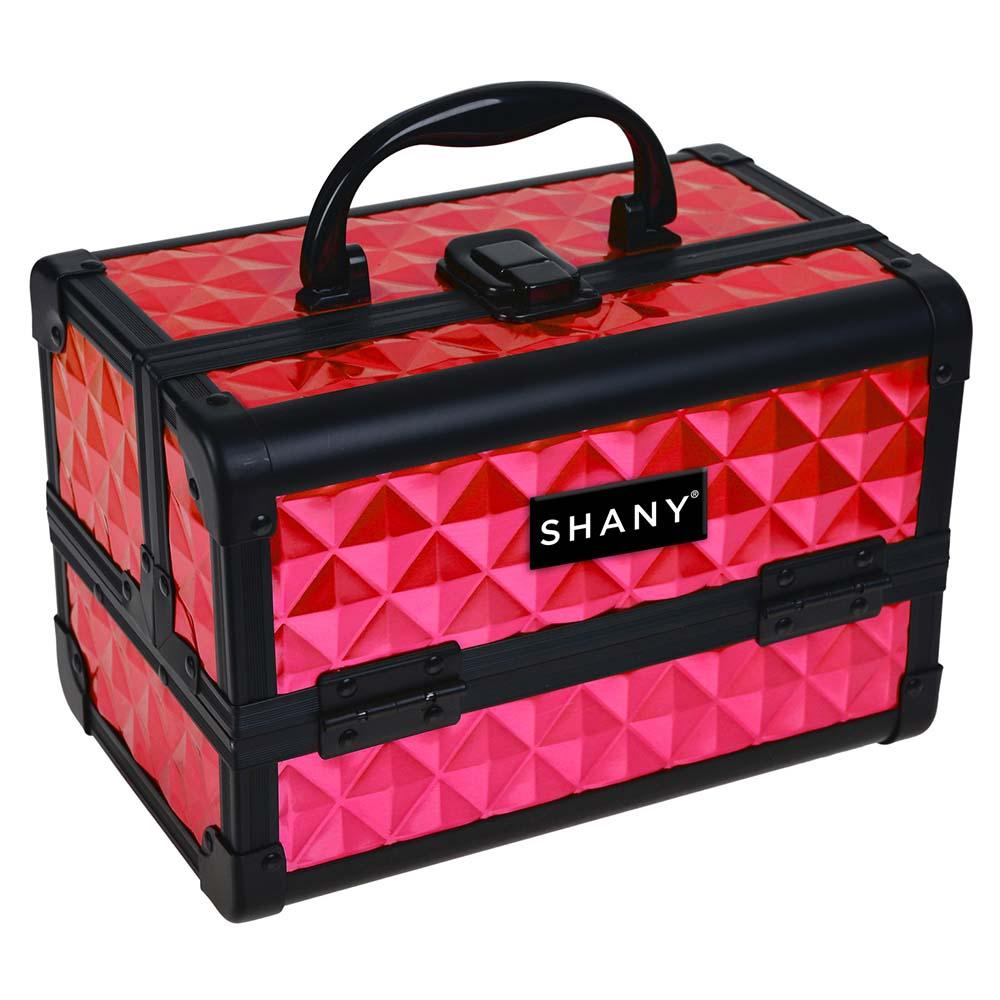 SHANY-Mini-Makeup-Train-Case-With-Mirror miniature 60