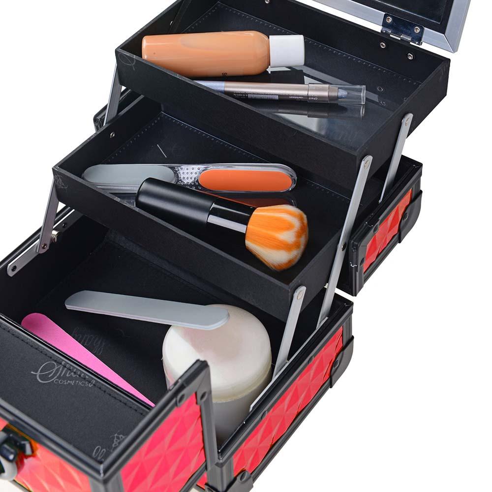SHANY-Mini-Makeup-Train-Case-With-Mirror miniature 65