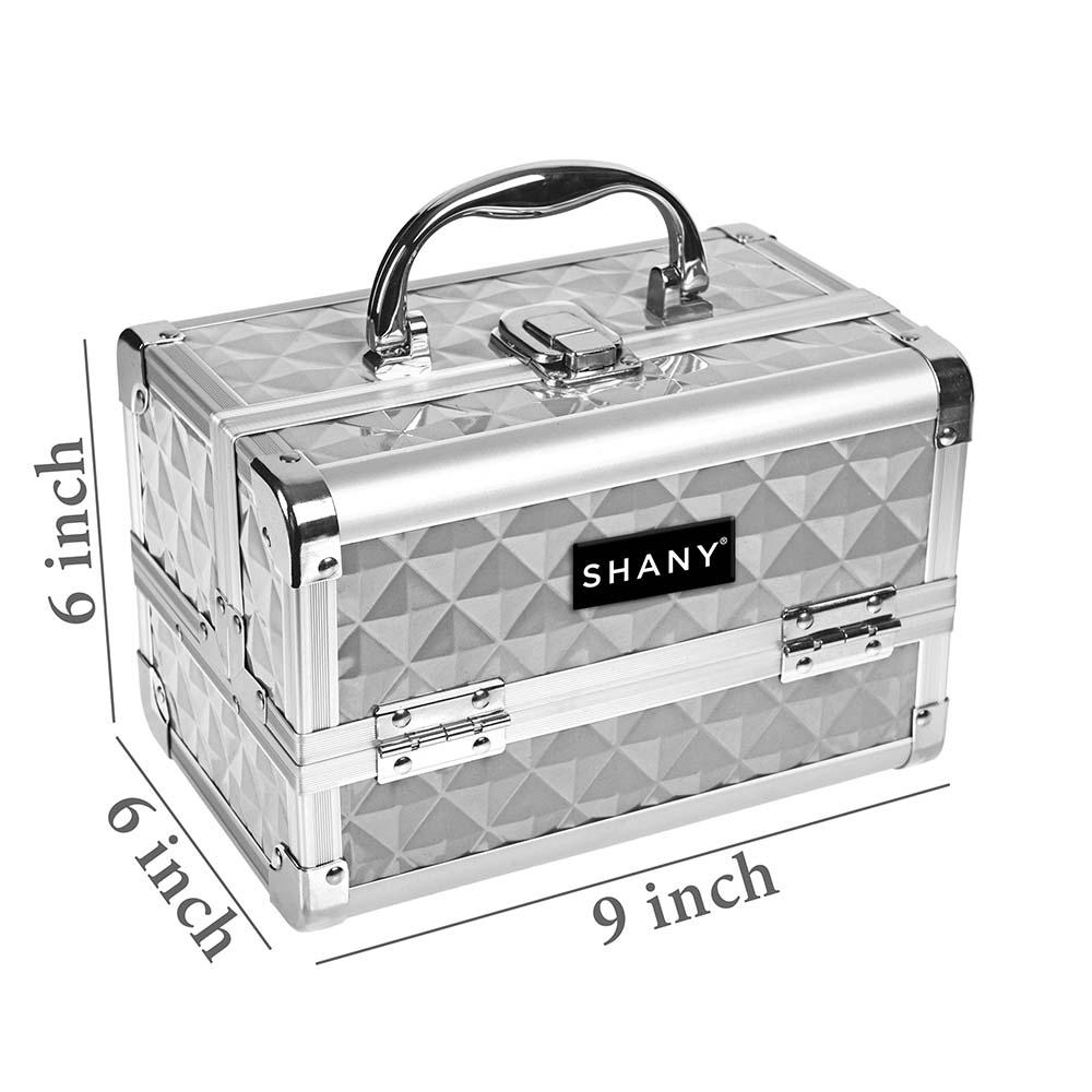 SHANY-Mini-Makeup-Train-Case-With-Mirror miniature 70
