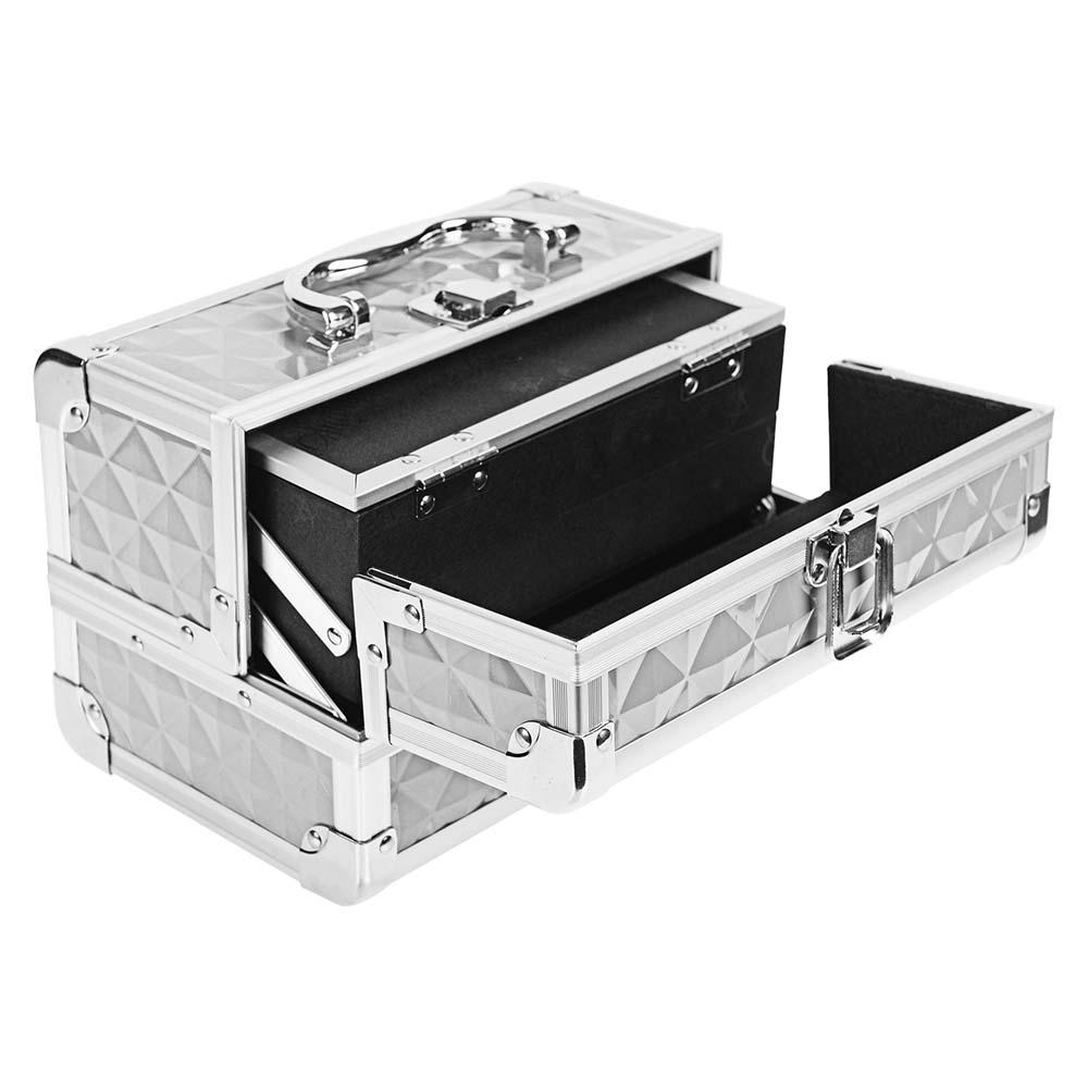 SHANY-Mini-Makeup-Train-Case-With-Mirror miniature 71