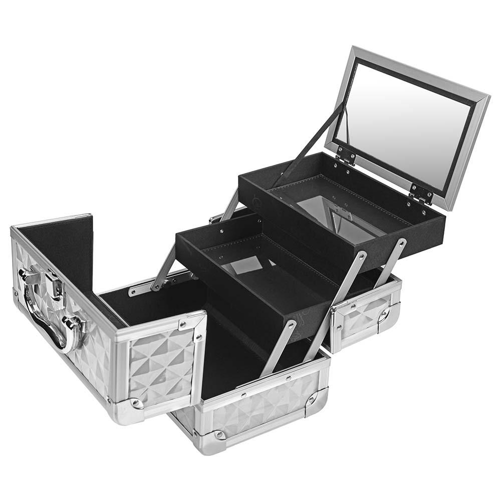 SHANY-Mini-Makeup-Train-Case-With-Mirror miniature 72