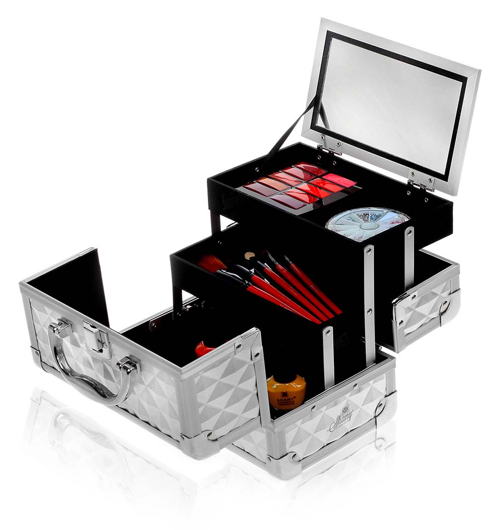 SHANY-Mini-Makeup-Train-Case-With-Mirror miniature 75