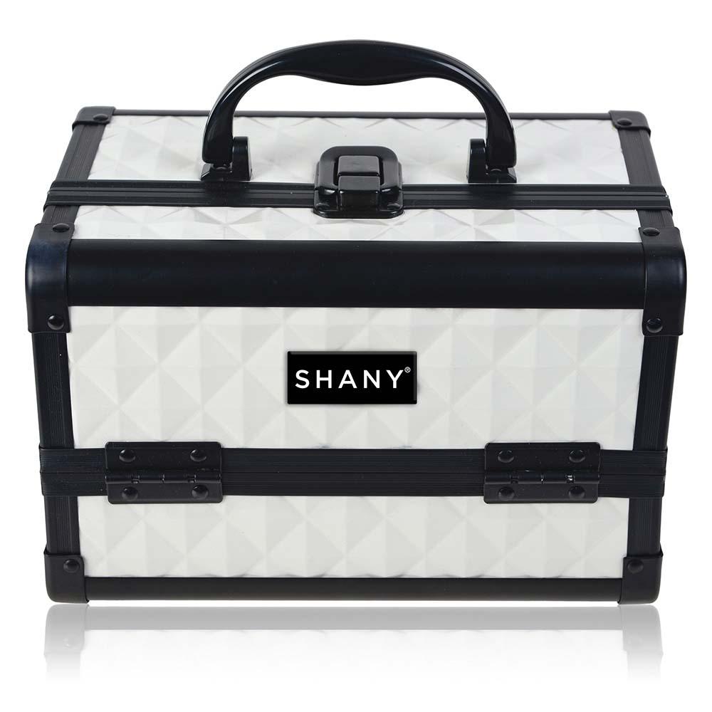 SHANY-Mini-Makeup-Train-Case-With-Mirror miniature 105