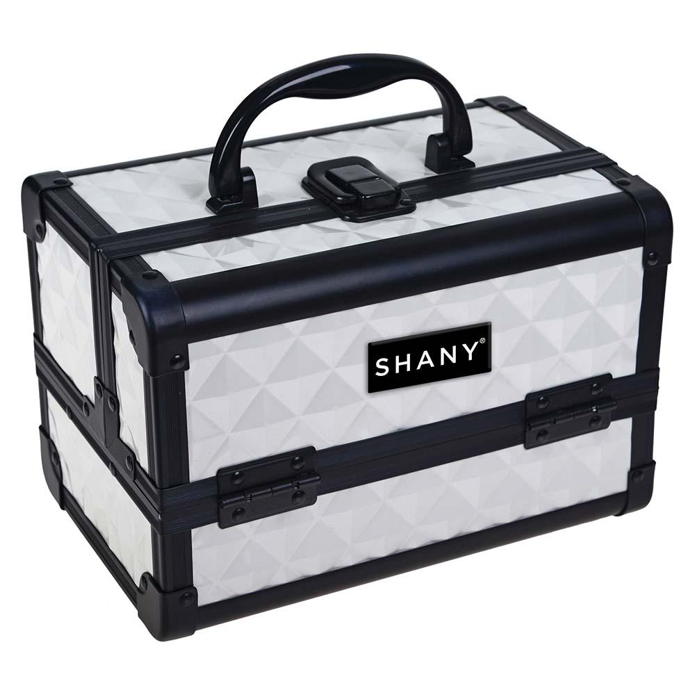 SHANY-Mini-Makeup-Train-Case-With-Mirror miniature 106