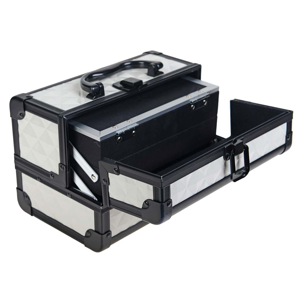 SHANY-Mini-Makeup-Train-Case-With-Mirror miniature 107