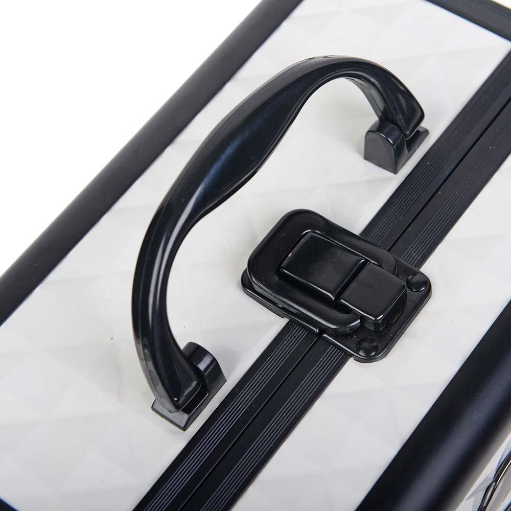 SHANY-Mini-Makeup-Train-Case-With-Mirror miniature 109