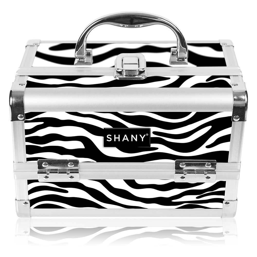 SHANY-Mini-Makeup-Train-Case-With-Mirror miniature 113