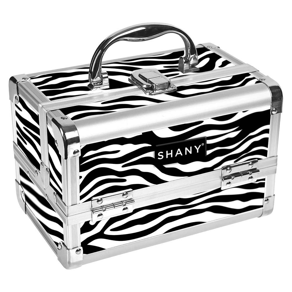 SHANY-Mini-Makeup-Train-Case-With-Mirror miniature 114
