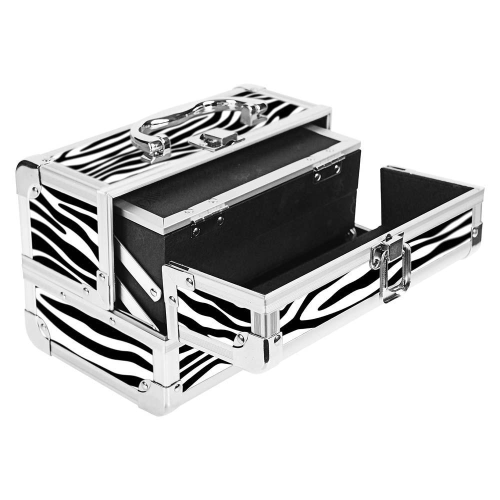 SHANY-Mini-Makeup-Train-Case-With-Mirror miniature 116