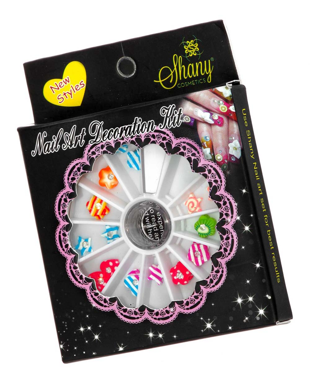 SHANY 3D DIY Neon Nail Decoration, Flowers & More Nail Decorations ...