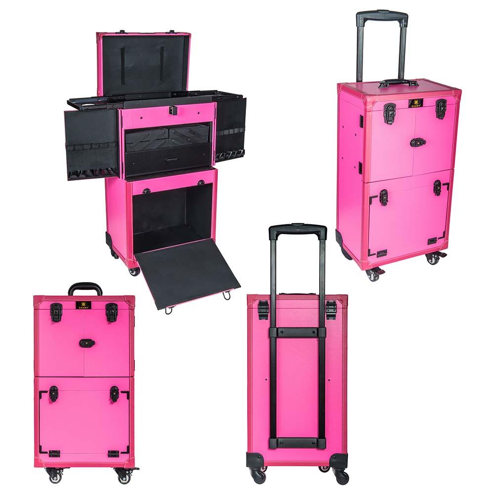 SHANY-REBEL-Makeup-Artists-Multifunction-Cosmetics-Trolley-Train-Case miniature 6