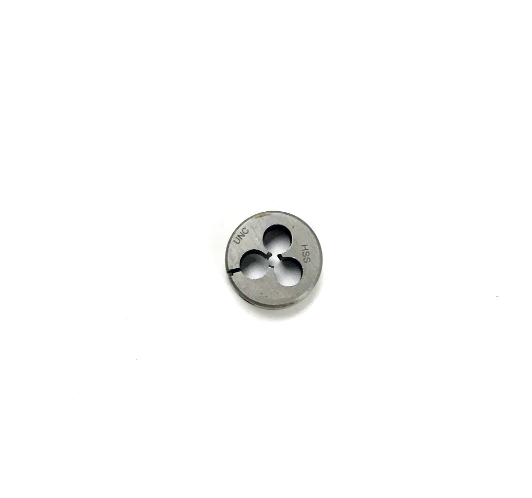 """3//8-24 X 1/""""OD ROUND ADJUSTABLE SPLIT DIE IMPORT GREAT QUALITY NEW MADE IN JAPAN"""